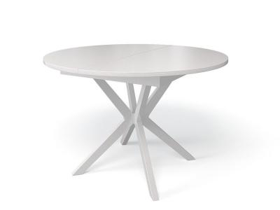 Стол Kenner B1100 белый/стекло белое