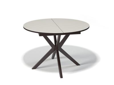 Стол Kenner B1100 венге/стекло крем
