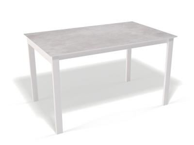 Стол Kenner E1300 белый/цемент