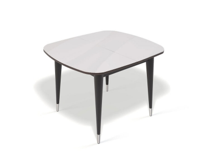 Стол Kenner K900 венге/стекло белое
