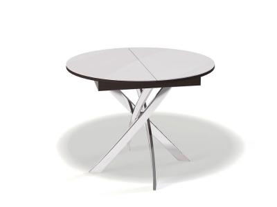 Стол Kenner R1100 венге/стекло белое