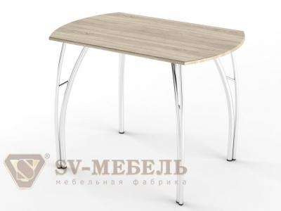 Стол обеденный МДФ СВ Дуб Сонома