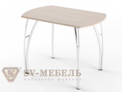 Стол обеденный МДФ СВ Ясень Шимо светлый