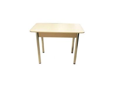 Стол обеденный Прямоугольный Дуб беленый хром