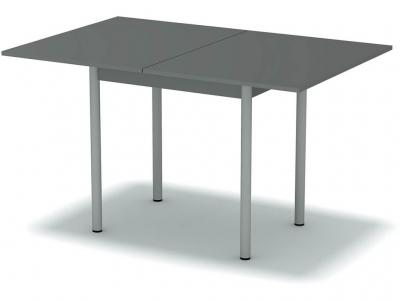 Стол обеденный раскладной Платина - ноги серые