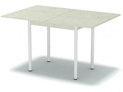 Стол обеденный раскладной Венециано - ноги белые