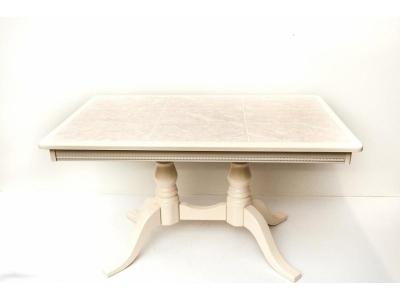 Стол прямоугольный с керамической плиткой 1270х770