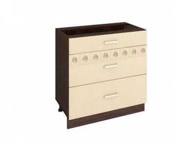 Стол с 3 ящиками - метабоксы 10.67.2 Аврора 800х470х820