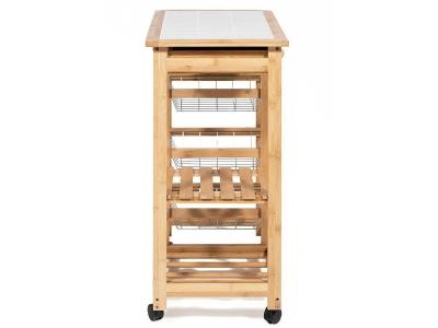 Столик передвижной кухонный разделочный (mod. Jw3-2063)