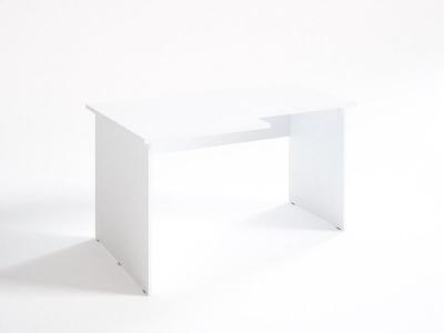Стол эргономичный вырез справа СЛ 14.9.7 Белый