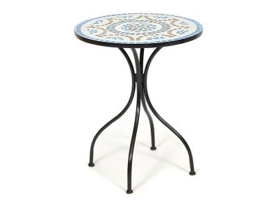 Стол Secret De Maison Romeo Black - Blue Brown Mosaic (mod. Pl08-1070)