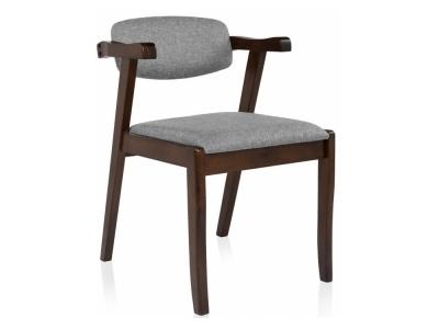 Стул деревянный Fit cappuccino - grey