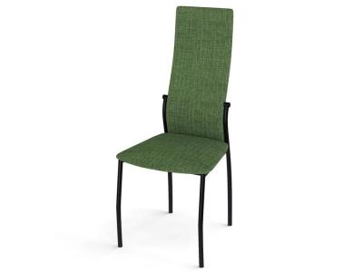 Стул Галс каркас черный ткань Elain №16 зеленый