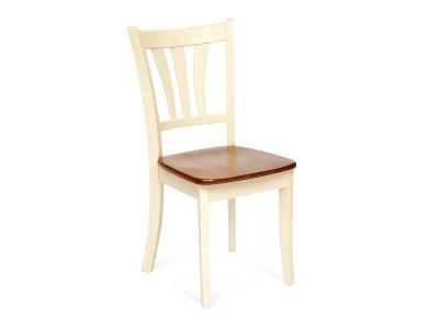 Стул Iglesias с твердым сиденьем Дуб - Кремовый (mod. D-84e)