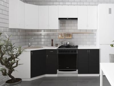 Угловой кухонный гарнитур Роза 2400 ГКУ2400-5.5_7.2