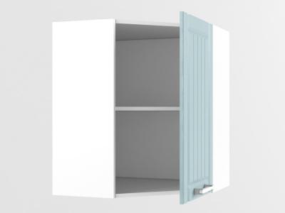 Верхний шкаф В 420 720х600х600х300 Прованс Роялвуд голубой