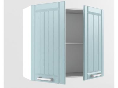 Верхний шкаф В 800 720х800х300 Прованс Роялвуд голубой