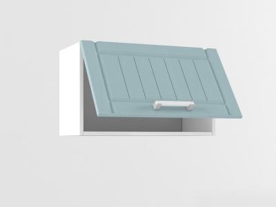 Верхний шкаф В 600 1 софт 360х600х300 Прованс Роялвуд голубой