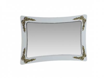 Зеркало Аделина А 2.0.6 Белый глянец-Золото