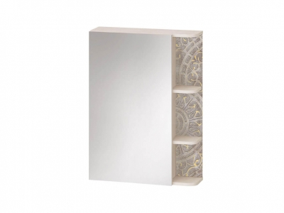 Зеркало с полками лев-прав 48.17 Фреска 600х180х820
